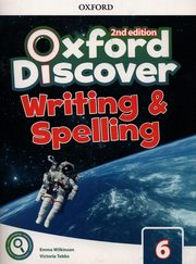 Oxford Discover 6 Writing & Spelling Book, Wilkinson Emma, Tebbs Victoria