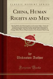 China, Human Rights and Men, Author Unknown