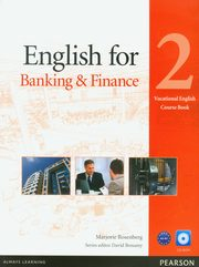 English for banking and finance 2 vocational english course book with CD-ROM, Rosenberg Marjorie
