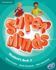 Super Minds 3 Student's Book with DVD-ROM, Herbert Puchta , Günter Gerngr