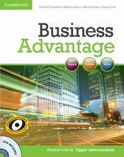 Business Advantage Upper-intermediate Student's Book + DVD, Handford Michael, Lisboa Martin, Koester Almut, Pitt Angela