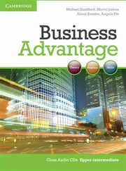 Business Advantage Upper-intermediate Audio 2CD, Handford Michael, Lisboa Martin