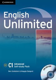 English Unlimited Advanced Self-study Pack Workbook + DVD, Goldstein Ben, Baigent Maggie