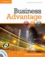Business Advantage Advanced Student's Book + DVD, Lisboa Martin, Handford Michael