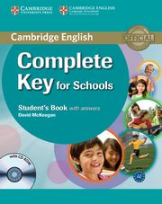 Complete Key for Schools Student's Book with A, McKeegan David
