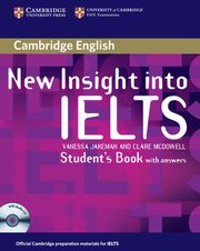New Insight into IELTS Student's Book with answers + CD, Jakeman Vanessa, McDowell Clare