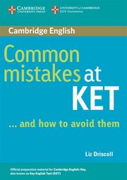 Common Mistakes at KET, Driscoll Liz