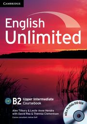 English Unlimited Upper Intermediate Coursebook + DVD, Tilbury Alex, Hendra Leslie Anne