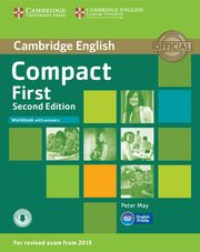 Compact First Workbook with Answers, May Peter