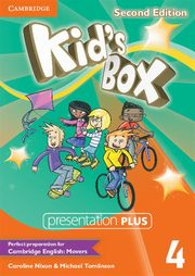Kid's Box Second Edition 4 Presentation Plus DVD, Nixon Caroline, Tomlinson Michael