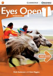 Eyes Open 1 Workbook with Online Practic, Anderson Vicki, Higgins Eoin