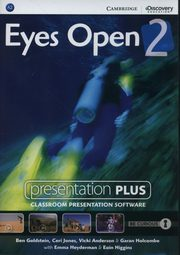 Eyes Open 2 Presentation Plus DVD, Goldstein Ben, Jones  Ceri