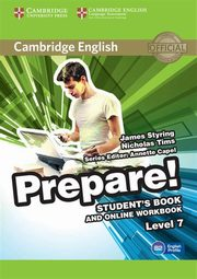 Cambridge English Prepare! 7 Student's Book + Online Workbook, Styring James, Tims Nicholas