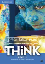 Think 1 Presentation Plus, Puchta Herbert, Stranks Jeff, Lewis-Jones Peter