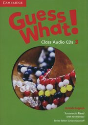 Guess What! 3 Class Audio 2CD British English, Reed Susannah, Bentley Kay