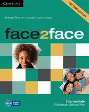 face2face Intermediate Workbook without Key, Tims Nicholas, Redston Chris