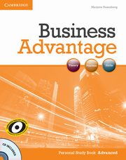 Business Advantage Advanced Personal Study Book + CD, Rosenberg Marjorie