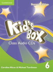 Kid's Box Second Edition 6 Class Audio 4CD,