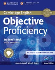 Objective Proficiency Student's Book with Answers, Annette Capel , Wendy Sharp