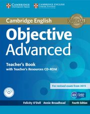 Objective Advanced Teacher's Book + CD, O'Dell Felicity, Broadhead Annie
