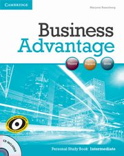 Business Advantage Intermediate Personal Study Book + CD, Rosenberg Marjorie