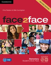 face2face Elementary Student's Book + Online workbook + DVD, Redston Chris, Cunningham Gillie