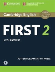 Cambridge English First 2 Student's Book with Answers and Audio,