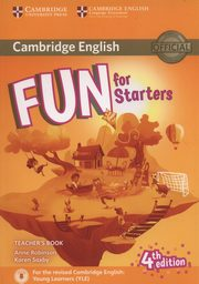 Fun for Starters Teacher?s Book + Downloadable Audio, Robinson Anne, Saxby Karen