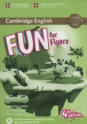 Fun for Flyers Teacher?s Book + Downloadable Audio, Robinson Anne, Saxby Karen