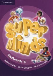 Super Minds Flashcards 6, Puchta Herbert, Gerngross Gunter, Lewis-Jones Peter