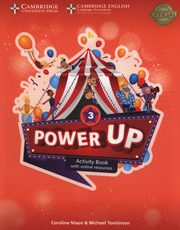 Power Up  3 Activity Book with Online Resources and Home Booklet, Nixon Caroline, Tomlinson Michael