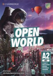 Open World Key Student's Book without Answers with Online Workbook, Cowper Anna, Dignen Sheila, White Susan